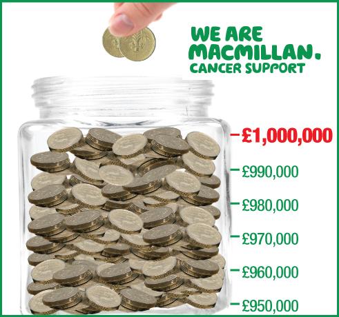 Poundland Fundraising Totaliser