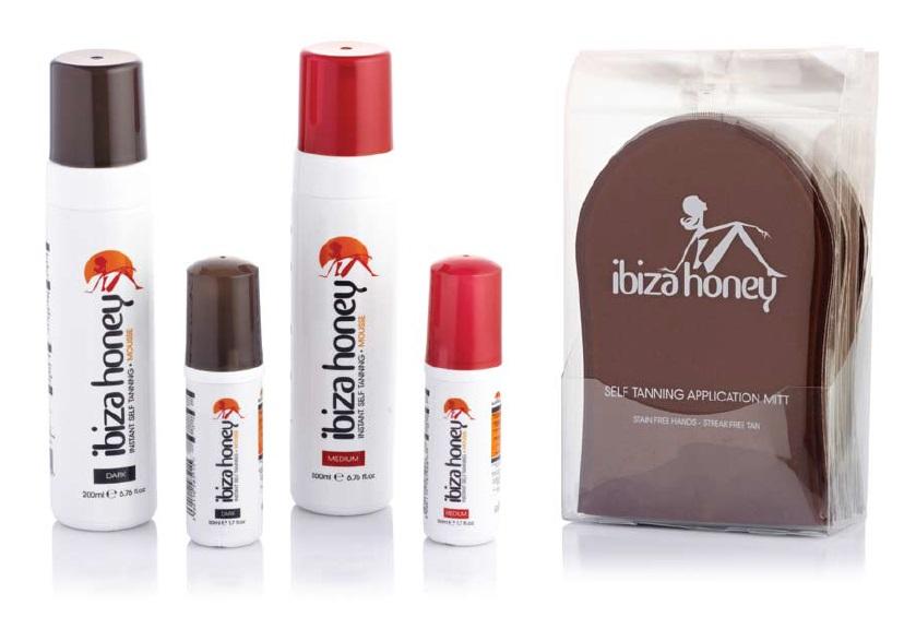 Ibiza Honey Tan and Mitt