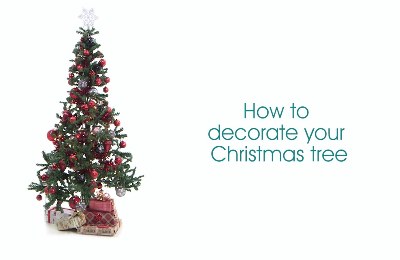 Poundland How To Decorate Your Christmas Tree