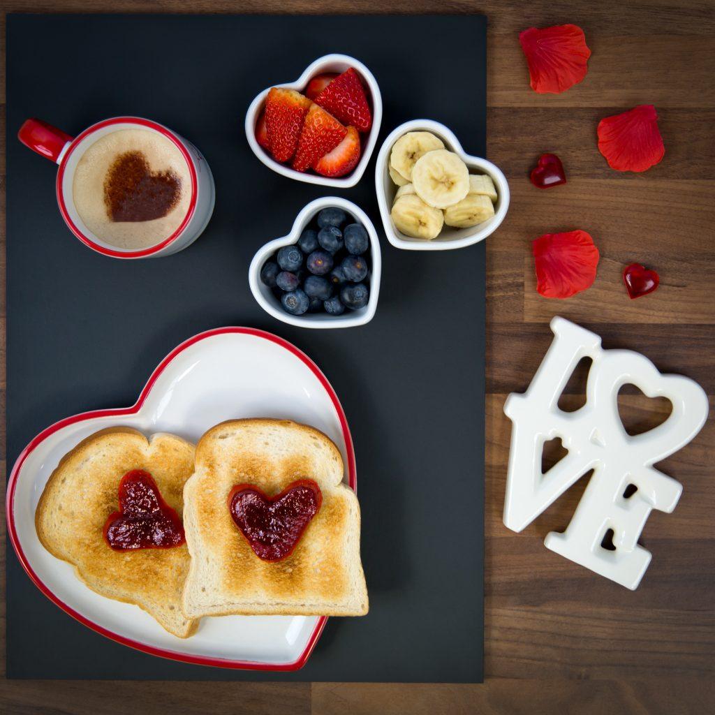 Valentines Breakfast Shot For Social