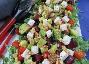 Beetroot-Avocado-Walnut-Salad