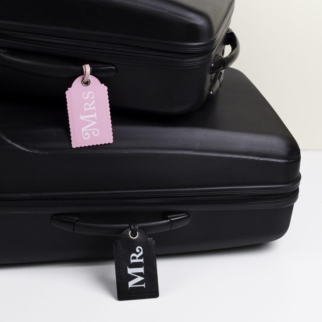 Wedding Luggage tags