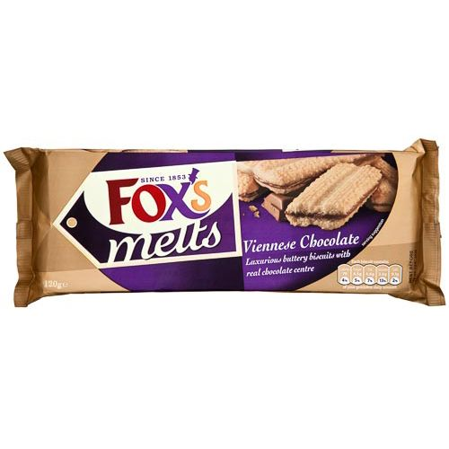 Fox's Viennese Chocolate Melts 120g