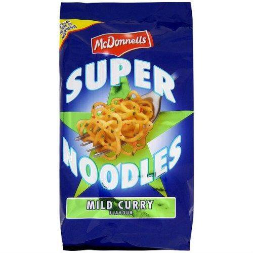 McDonnells Super Noodles Mild Curry 100g