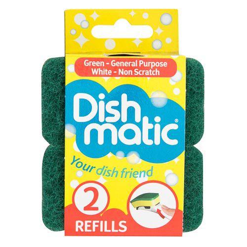 DISHMATIC CLASSIC REFILLS 2 PACK