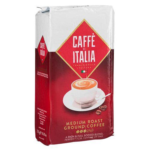 Cafe Di Italia Medium Roast Ground Coffee 250g