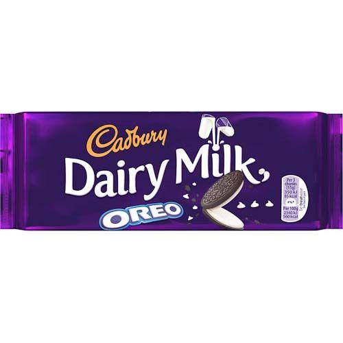 Cadbury Dairy Milk Oreo Block 120g