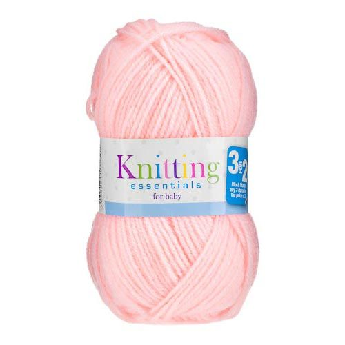DOUBLE KNIT 50G BABY YARN PALE PINK