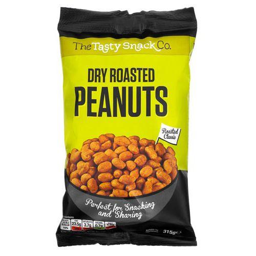 Dry Roasted Peanuts 360g