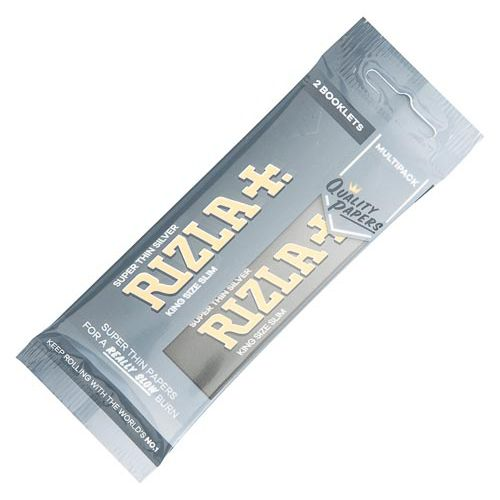 Rizla Silver Kingsize Rolling Papers 2 Pack