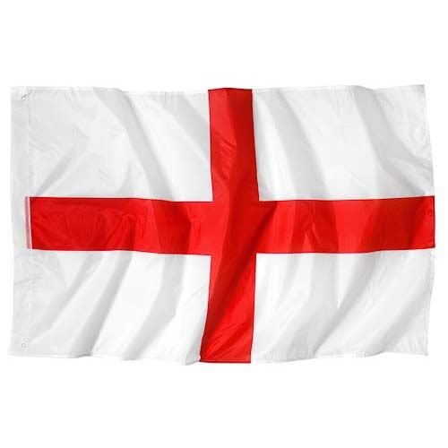 England Balcony Flag 5ftx3ft