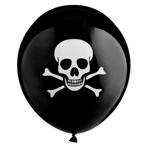 Pirate Balloons 18 Pack