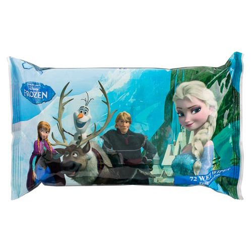 DISNEY FROZEN WET WIPES 72 PACK