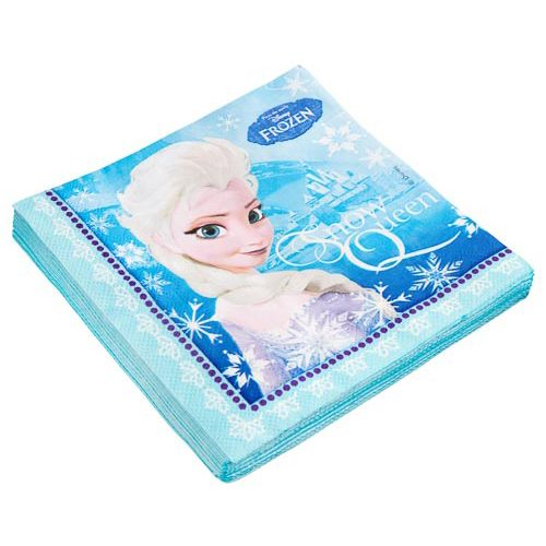 DISNEY FROZEN PARTY NAPKINS 20 PACK