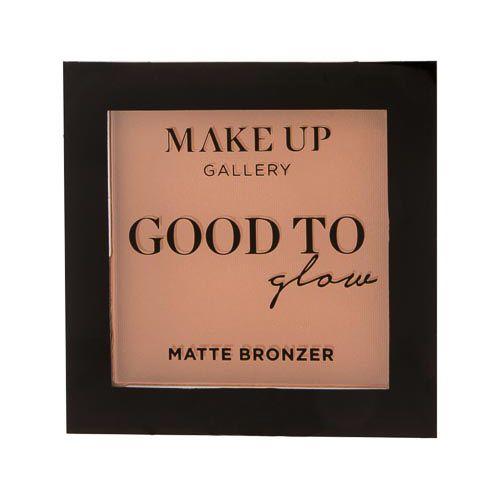 Make Up Gallery Good To Glow Matte Bronzer Medium