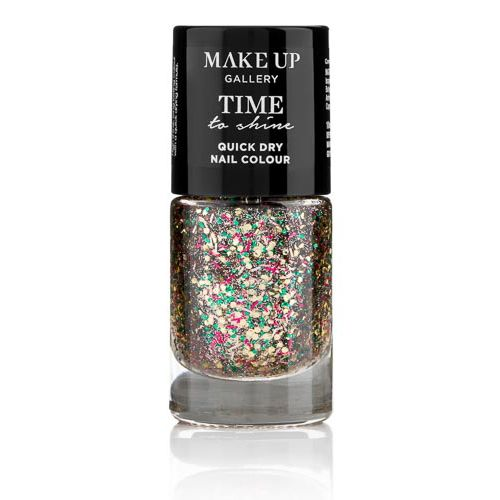 MAKE UP GALLERY TIME TO SHINE NAILS RAINBOWSPARKLE