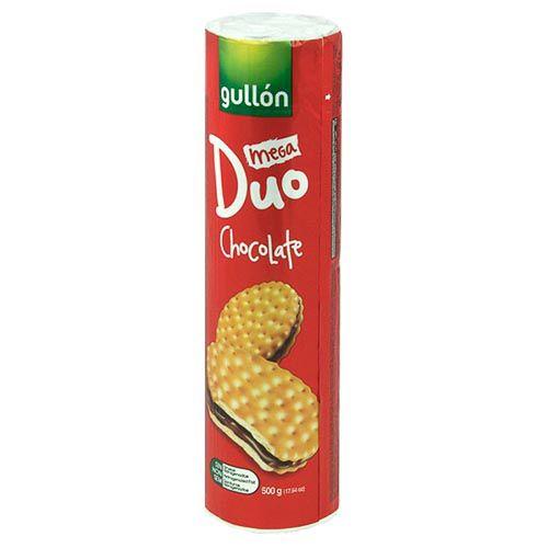 Gullon Mega Duo Chocolate Biscuits 500g