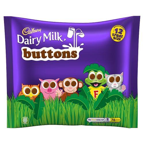 Cadbury Dairy Milk Buttons Treatsize 12pk 170g