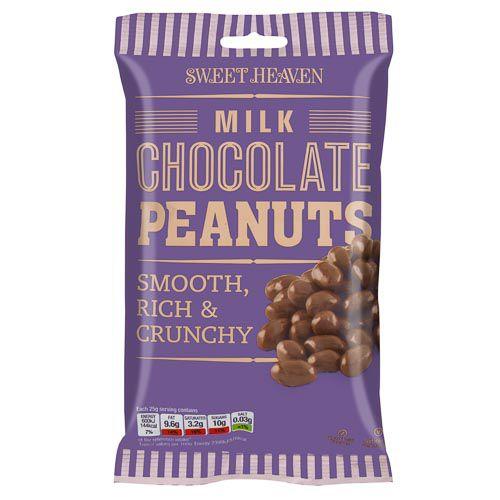 Sweet Heaven Milk Chocolate Peanuts 230g