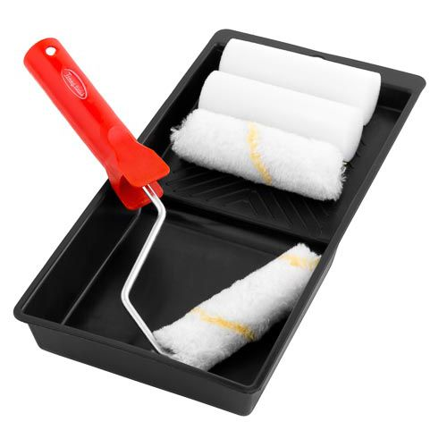 TOMMY WALSH MINI PAINT ROLLER SET
