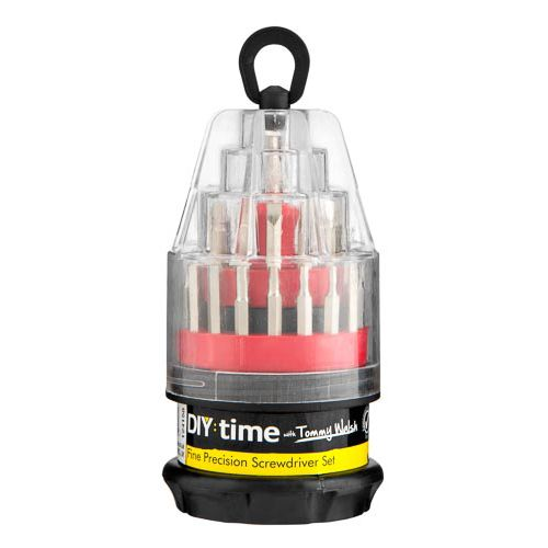 TOMMY WALSH PRECISION SCREWDRIVER SET