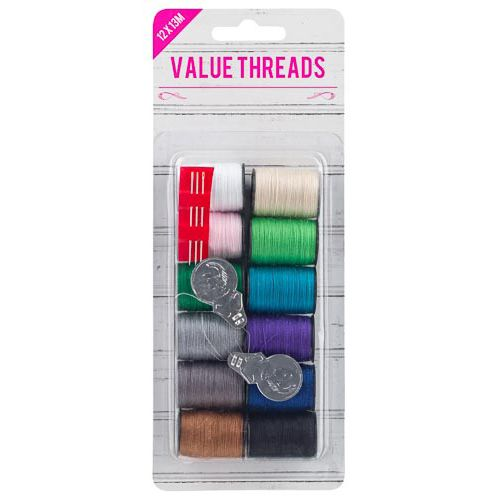 12 PACK VALUE THREAD PACK