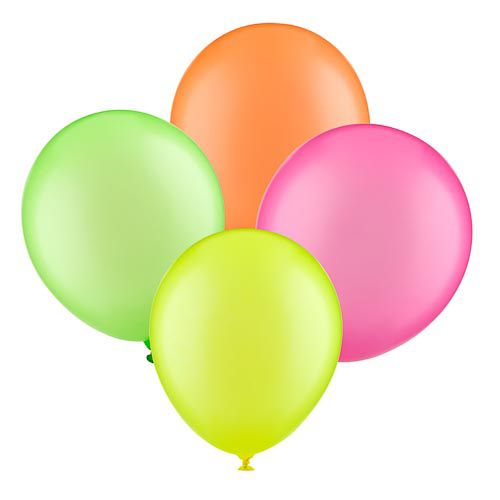 NEON BALLOONS 10 PACK