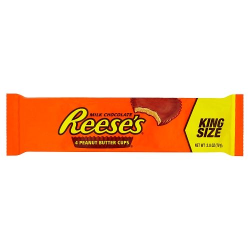REESE'S PEANUT BUTTER CUPS KING SIZE 4PK 79G