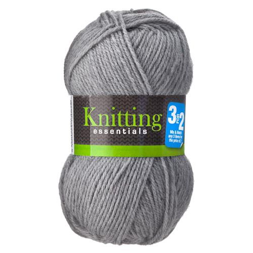 DOUBLE KNIT 50G YARN CHARCOAL