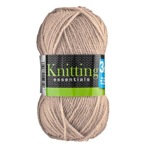 DOUBLE KNIT 50G YARN TAUPE