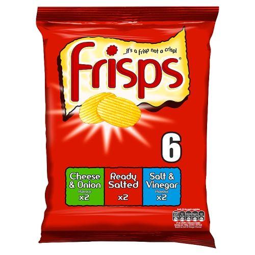 Frisps Assorted 6x25.5g