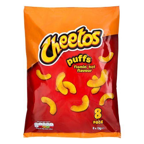 Walkers Cheetos Flamin Hot 8x13g 8pk