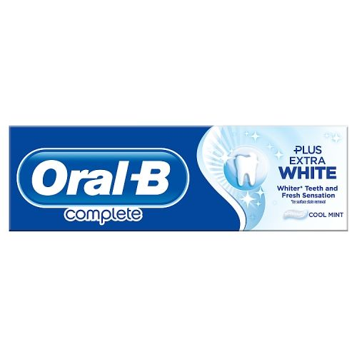 Oral B Complete Extra White Toothpaste 75ml