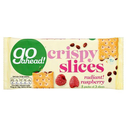 Go Ahead Crispy Fruit Slices Raspberry 5x43.6g