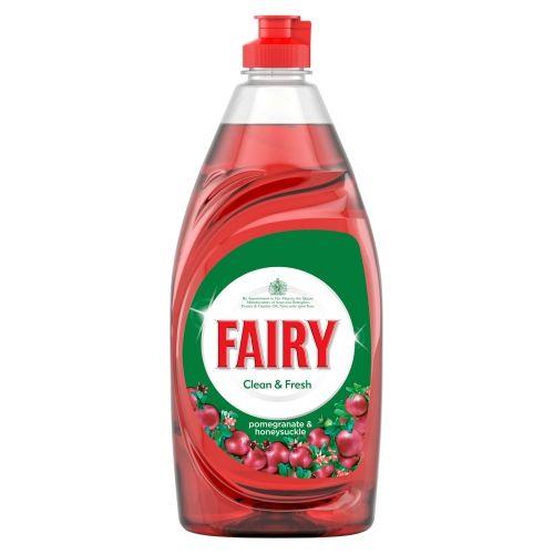 Fairy Washing Up Liquid Pomegranate 520ml