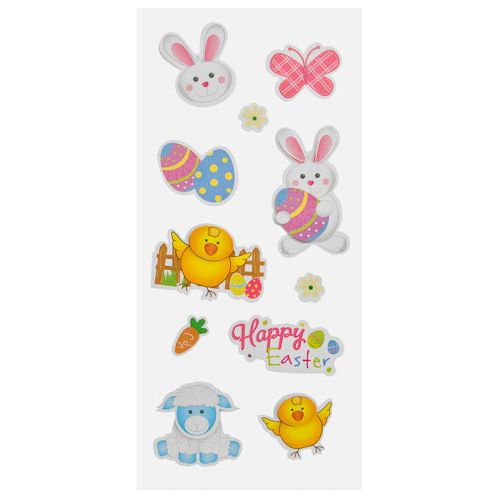 EASTER STICKERS 10 PACK