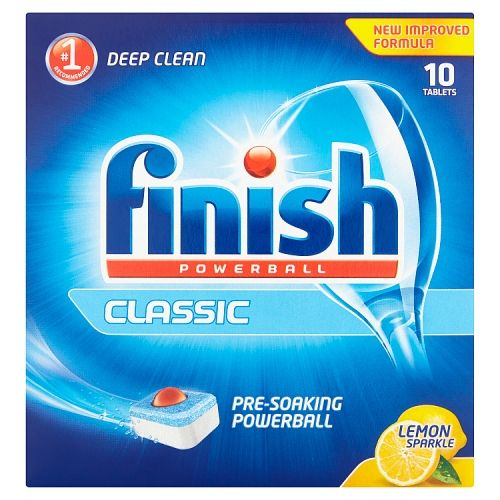 FINISH POWERBALL CLASSIC LEMON SPARKLE 10 TABLETS