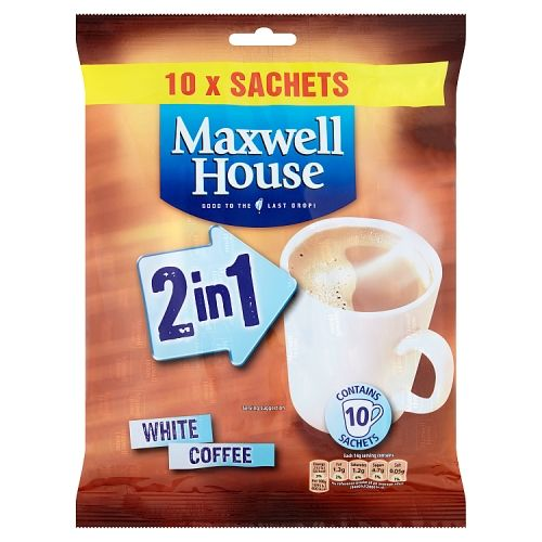 Maxwell House 2 In 1 10 Pack