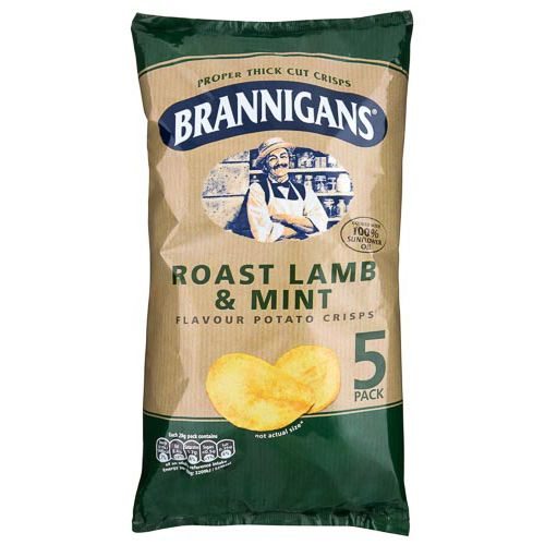 BRANNIGANS ROAST LAMB & MINT 5 PACK