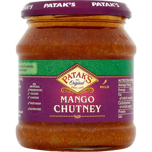 PATAKS MANGO CHUTNEY 340G