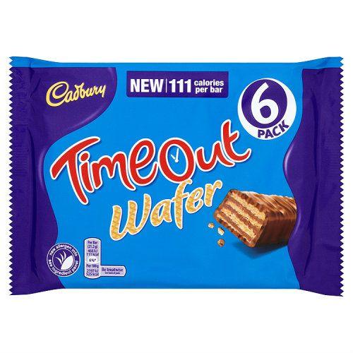 Cadbury Timeout Wafer 6 Pack