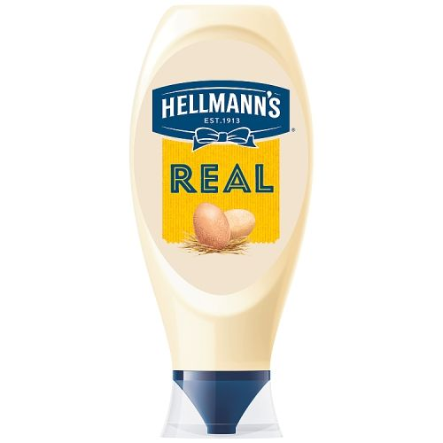 Hellmann's Real Squeezy Mayonnaise 750ml