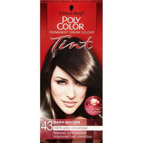 Poly Colour Dark Brown 43