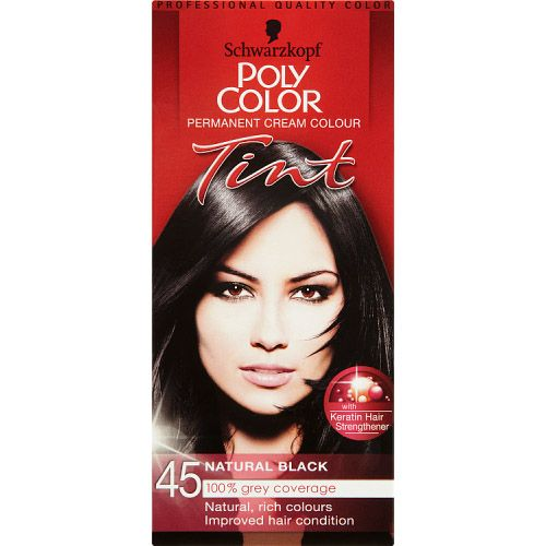 Poly Colour Natural Black 45