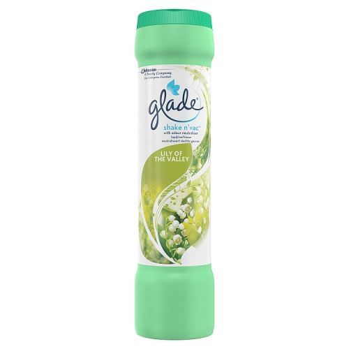 Glade Shake N Vac Lily of the Valley 500g