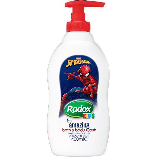RADOX SPIDERMAN BATH AND BODY WASH 400ML
