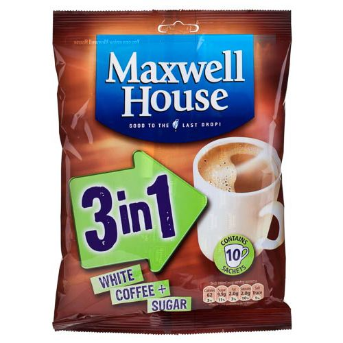 Maxwell House 3 In 1 10 Pack