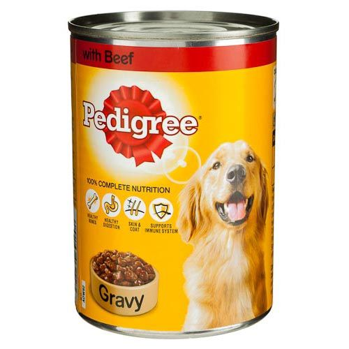 Pedigree Canned Beef and Gravy 400g