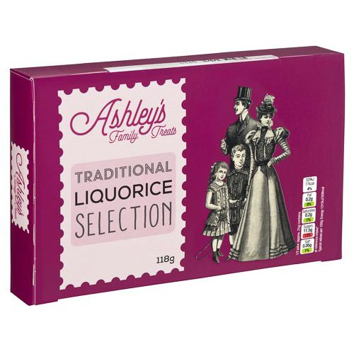 ASHLEY'S FAMILY TREAT LIQUORICE SELECTION 188G