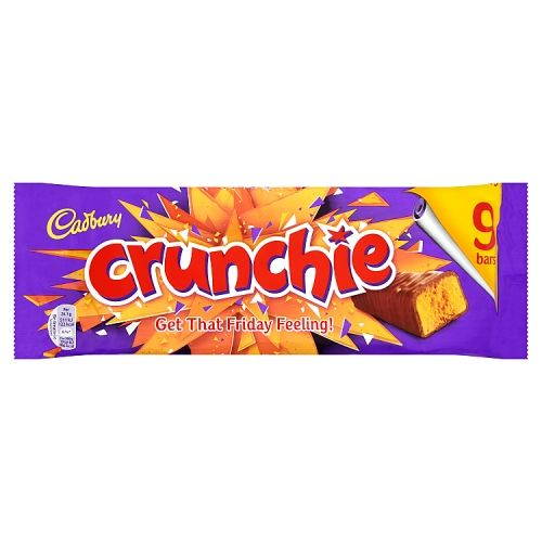 Cadbury Crunchie 9pk